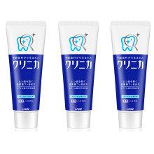 狮王 日本进口酵素牙膏 130g*3支组合装 洁齿防蛀美白牙膏 [3支]