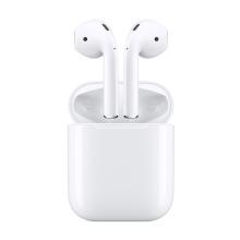 苹果 原装正品Apple 蓝牙耳机 AirPods2代 最新升级 [配有线充电盒白色]
