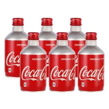 可口可乐 日本进口 碳酸饮料 [300ml*6]