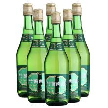 竹叶青 38度玻璃瓶竹叶青475ml*6
