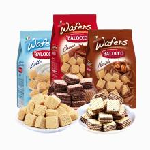 星期六 百乐可 威化3袋组合装 榛仁味奶油味可可味 办公室休闲零食小吃饼干