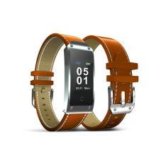民商智惠 系致XZY2 智能手环 彩屏心率血压健康手表男女计步器运动防水睡眠监测 [活力橙色]