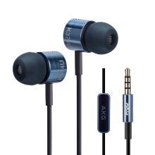 AKG K374U 入耳式耳机运动线控带麦通话耳麦苹果安卓通用 [蓝色]