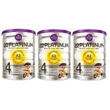 a2 Platinum 婴幼儿奶粉 4段 3-6周岁适用 自然亲和 贴近母乳(澳洲本土版直邮)(二库-2) [900g*3罐 4段]
