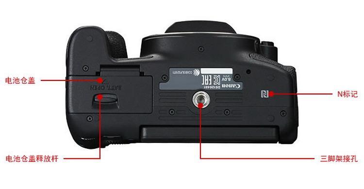 佳能canoneos 760d单反相机