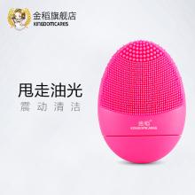 金稻 趣味洁面家用电动充电洗脸仪洁面仪KD-308B