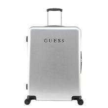 GUESS美国盖尔斯女士行李箱纯色旅行箱印字拉杆箱登机托运密码箱万向轮硬箱 红色 20寸