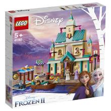 乐高LEGO积木益智玩具迪士尼冰雪奇缘系列10月份新款女孩生日礼物5岁+阿伦黛尔城堡村庄41167