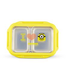 神偷奶爸小黄人双层分割便当盒 MN-JBDH01