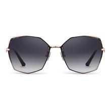 海俪恩墨镜 多边形太阳镜女款 时尚大框眼镜 N6708
