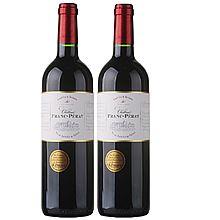 民商智惠 蒙佩奇弗朗系列珍藏波尔多干红葡萄酒(双支) [750ml]