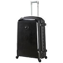 法国大使 DELSEY拉杆箱0038428万向轮轻便旅游男女时尚行李箱 0038428[黑色 20寸]